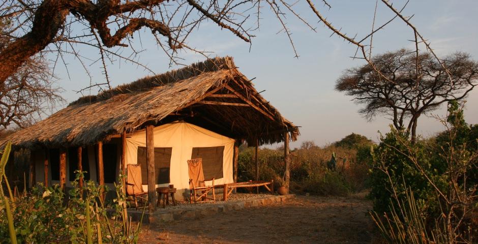 Tented camps en lodges