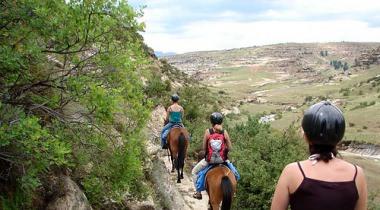 Bouwsteen: Lesotho Mountain Trail