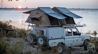 Avontuurlijke 4x4 konvooireis Botswana