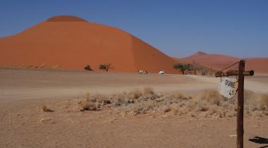Luxe individuele reis met gids/chauffeur door Namibië