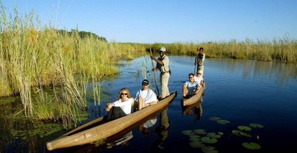 Okavango boot safari